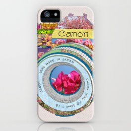 FLORAL CAN0N iPhone Case
