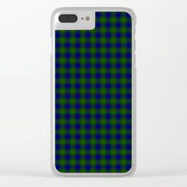 Colquhoun Tartan Clear iPhone Case