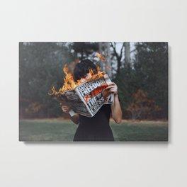 mind fuck america Metal Print