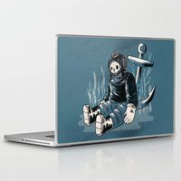 anchors Laptop & iPad Skins featuring Anchors Aweigh by Chase Kunz