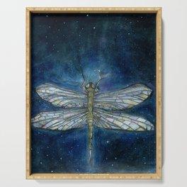 Interstellar Dragonfly Serving Tray