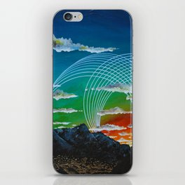 Mountain City View iPhone Skin
