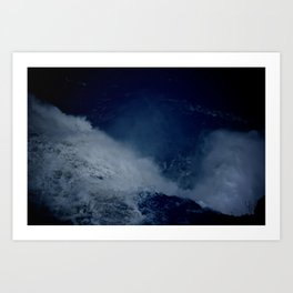 Blue Power Art Print