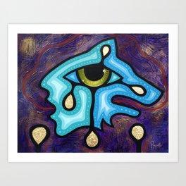 Wolf Vision Art Print