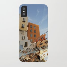The Ray and Maria Stata Center iPhone Case
