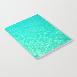 Turquoise Blue Ocean Notebook