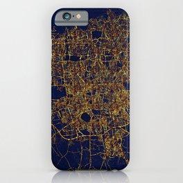 Tehran, Iran - City At Night iPhone Case