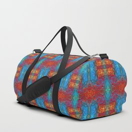 Psychedelic Pattern I Duffle Bag