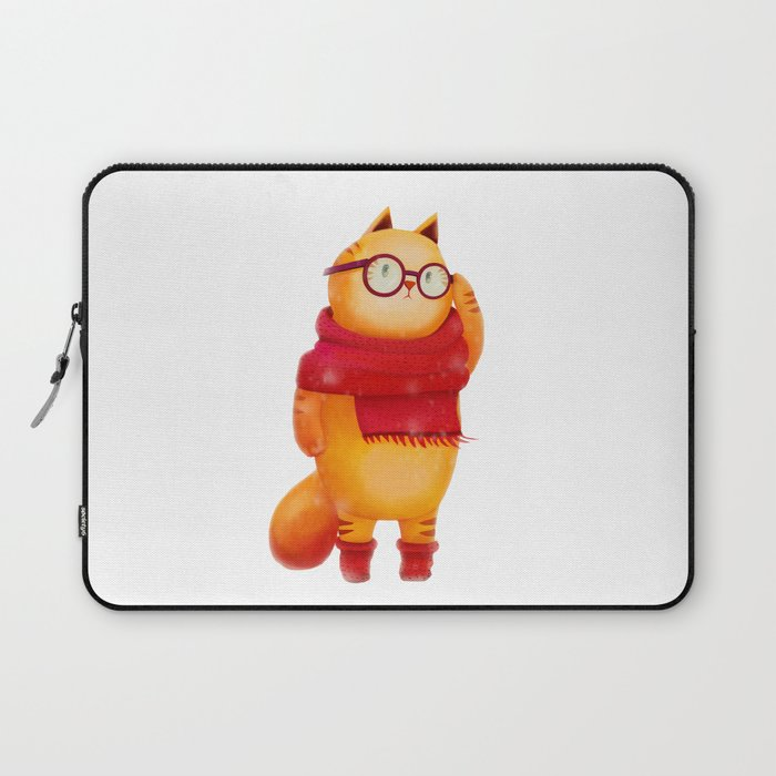 Smart cat Laptop Sleeve