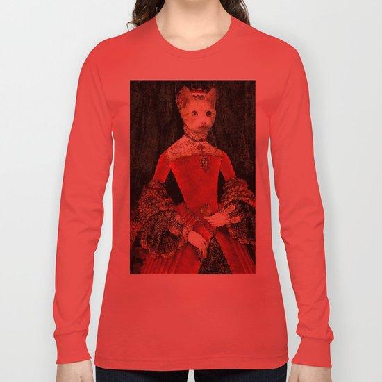 Royalty cat Long Sleeve T-shirt