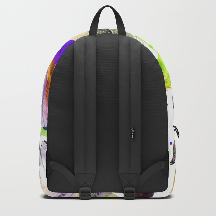 feathers and butterflies Backpack
