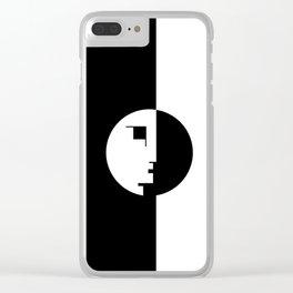 BAUHAUS! Clear iPhone Case