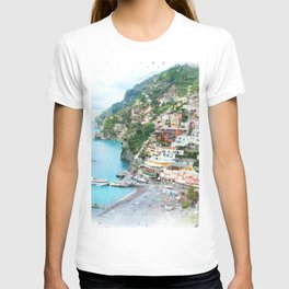 Picture perfect Positano T-shirt