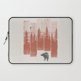 A Bear in the Wild... Laptop Sleeve