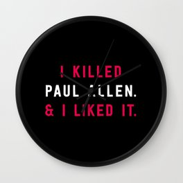 American Psycho - I killed Paul Allen. And I liked it. Wall Clock