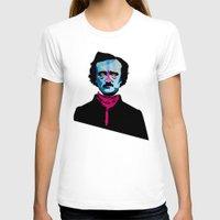 poe T-shirts featuring Poe by Alvaro Tapia Hidalgo