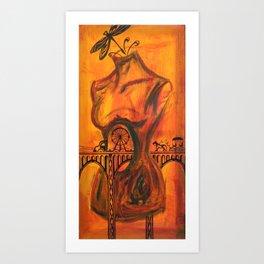 Passer-by Art Print