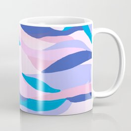 lucia, orange sunset ocean waves Coffee Mug