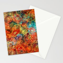 Latin American paints Stationery Cards