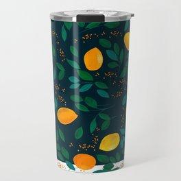 Lemon Green Travel Mug