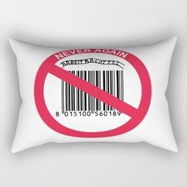 Olocausto Never Again Rectangular Pillow