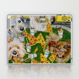Canines Feast On New York Pizza Laptop & iPad Skin