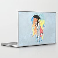water color Laptop & iPad Skins featuring Water Color by Bill Pyle
