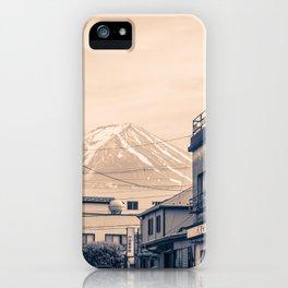 Funatsu Fujikawaguchiko iPhone Case