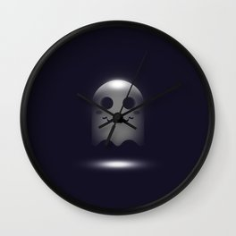 Ghost in 3D Wall Clock