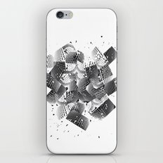 broken wondows iPhone & iPod Skin