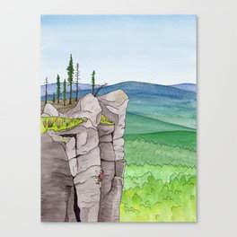 Explorer: The Heights Canvas Print