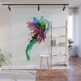 Watercolor Quetzal  Wall Mural