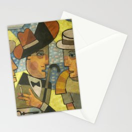 Haines, Stephen Dedalus and Buck Mulligan Stationery Cards