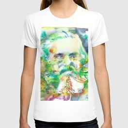 KARL MARX - watercolor portrait T-shirt