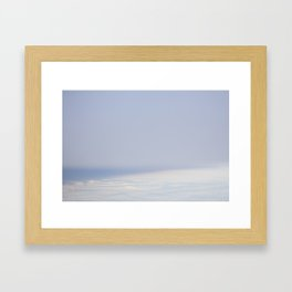 Up in the air Framed Art Print