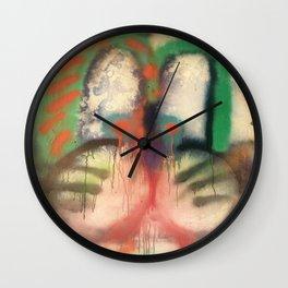 Obi in Water Wall Clock