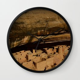 Cliff House - Mesa Verde National Park, Colorado Wall Clock