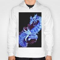 dragons Hoodies featuring dragons by Sitara Shah