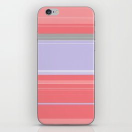Pink and Purple Plaid iPhone Skin