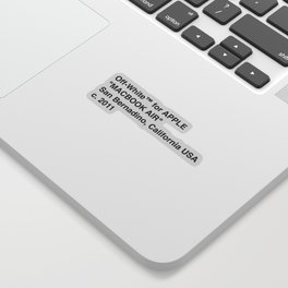 MacBook Air Sticker