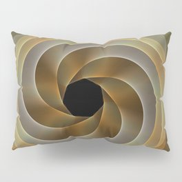 Artistic movement, fractal abstract Pillow Sham