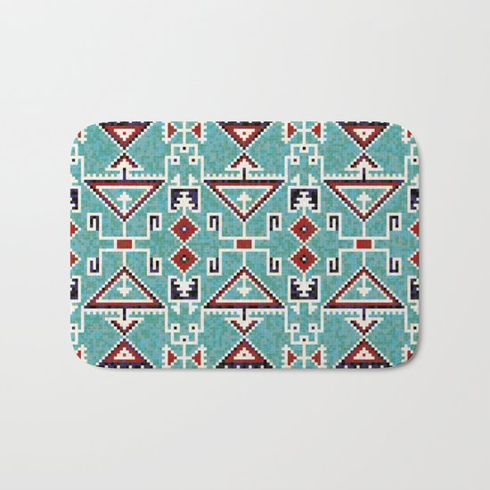 Native American Navajo pattern Bath Mat
