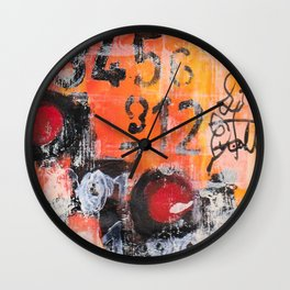 The Numbers Game Wall Clock