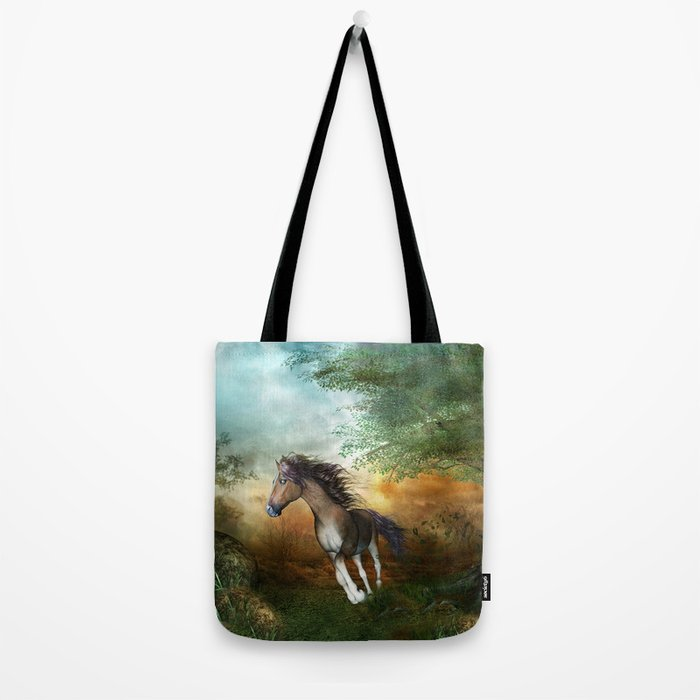 Beautiful brown horse Tote Bag