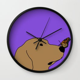 An unlikely friendship Wall Clock