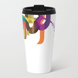 Flowers of Simele Travel Mug