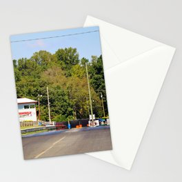 Eighth-Mile Track Stationery Cards