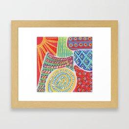 Doodle Collection 2 Framed Art Print