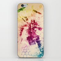 assassins creed iPhone & iPod Skins featuring Assassins Creed III by Robert William Smith