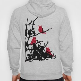 Red Owls Hoody